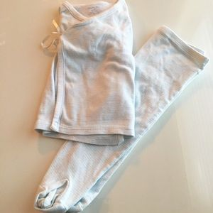 Ralph Lauren size 9month blue &white matching set